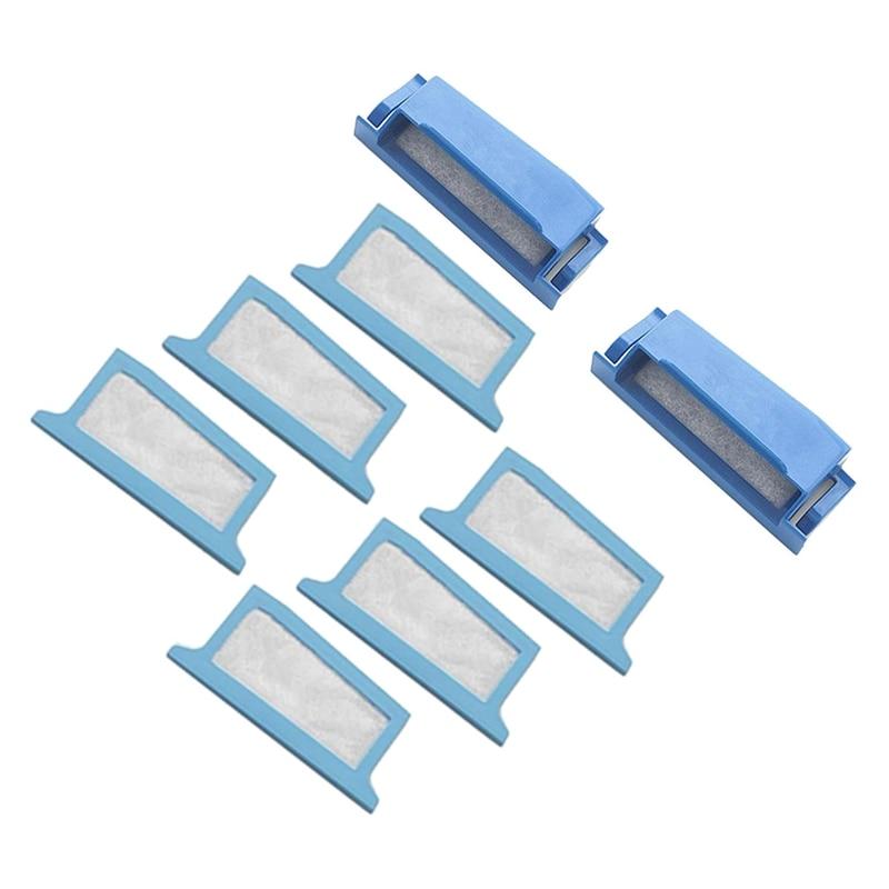 8Pcs Ultra-Fine Filters for  Respironics DreamStation, Reusable 2PCS & Disposable 6PCS