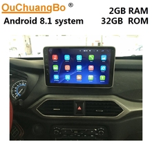 Ouchuangbo radio audio player for Dongfeng glory 560 scenery S560 support android 8.1 gps navigation 2GB RAM 32GB ROM