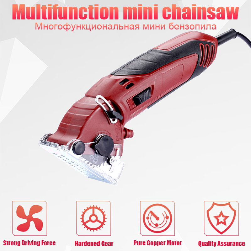 DIY Multifunctional Electric Saw Power Tools Rotary Tool Circular Saw Blades For Wood 400W Attachment Tools Wood Saw Metal Saw