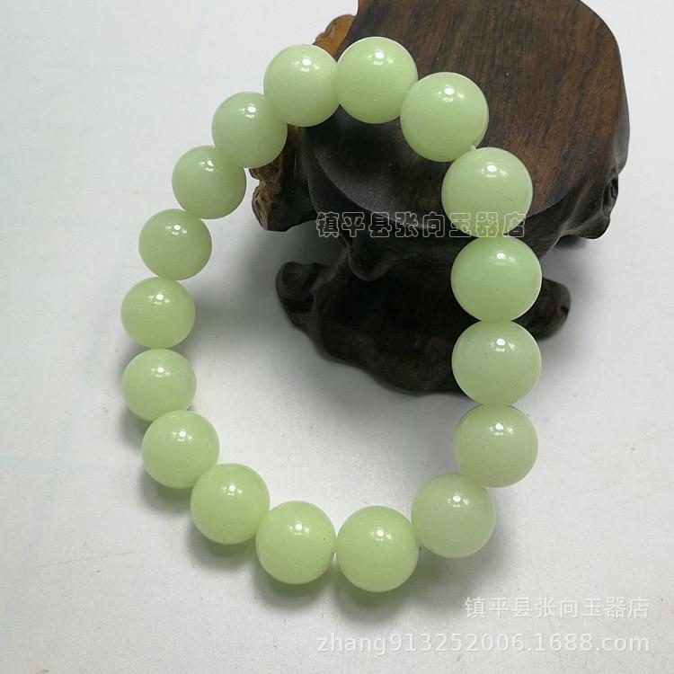 Wholesale natural luminous stone luminous stone bracelet  12MM