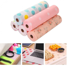 Mat Table-Cover Disposable Waterproof Pe Shelf-Liner Drawer Contact-Paper Kitchen-Gadgets