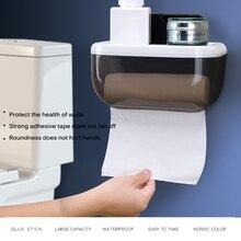 Водонепроницаемый настенный держатель туалетной бумаги полка, туалетный бумажный лоток рулон коробка для хранения бумаги держатель бумаги для ванной