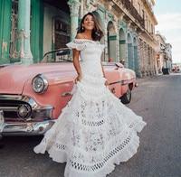 Ugost женское белое кружевное Макси длинное платье трапециевидной формы с вырезом лодочкой и перламутровым рукавом, открытая летняя винтажна...