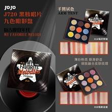 JOJO Eye Shadow Palette Long-lasting Mineral Pressed Powder Shimmer Glitter Kit Shiny Pigment Smoky Matte Eyeshadow Makeup недорого