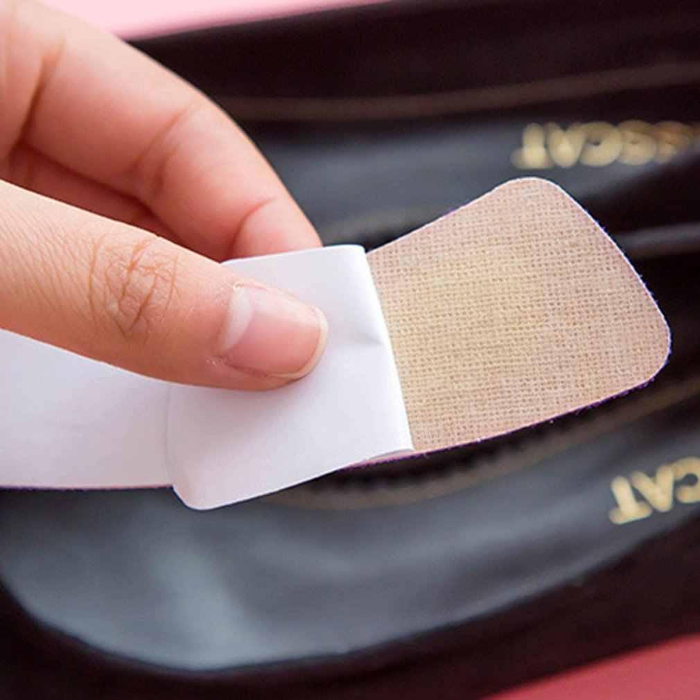 Um par/conjunto engrossado esponja para trás pé almofada prática sapatos pé thong proteger meias de dança cuidados com os pés sapatos de salto alto acessórios
