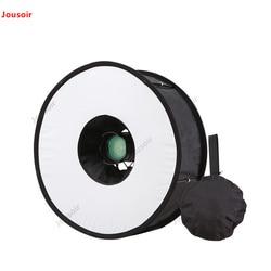 45cm Ring Softbox For SpeedLite Flash Light Foldable Diffuser Shoot Soft Box Speedlight Camera Ring Softbox Studio CD50 T07 RR1
