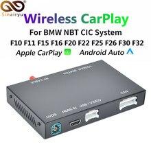 Drahtlose CarPlay Android Auto für BMW F20 F21 F22 F23 F30 F31 F32 F33 F34 F36 F01F56 NBT CIC system mirrorlink Kompatibel IOS