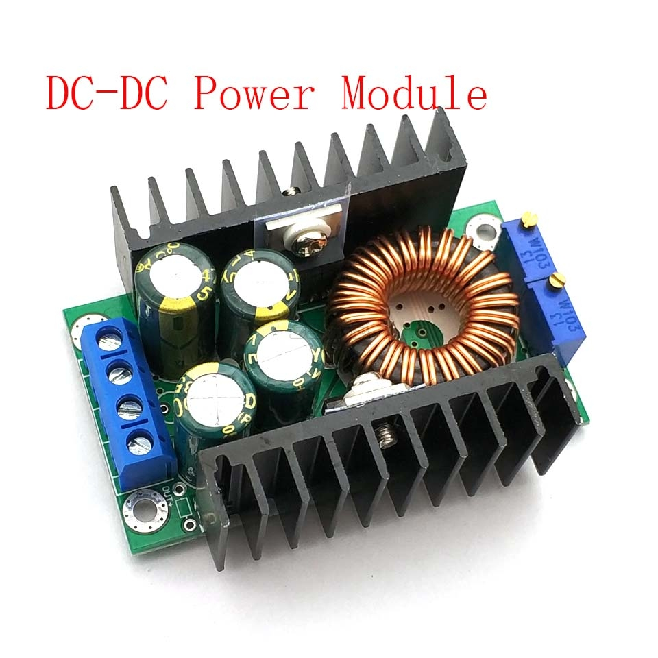 Adjustable Power Supply Module DC-DC CC CV Buck Converter Step-down Power Module 7-32V To 0.8-28V 12A 300W