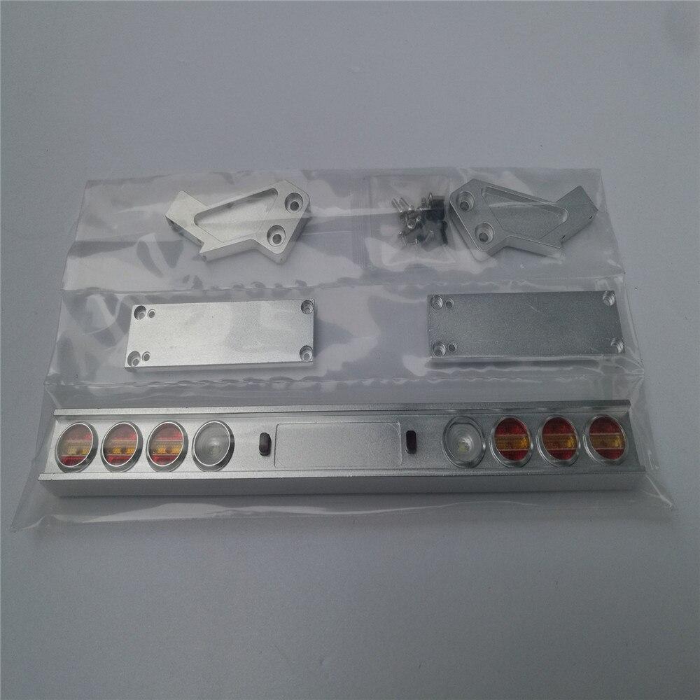 traseira modificado para tamiya 1 14 trator