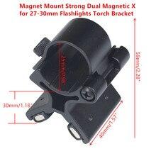 Магнитное крепление, крепкий двойной Магнитный фонарь X фонарь, кронштейн, прицел, пистолет, бочки, крепление, тактический с оригинальной коробкой