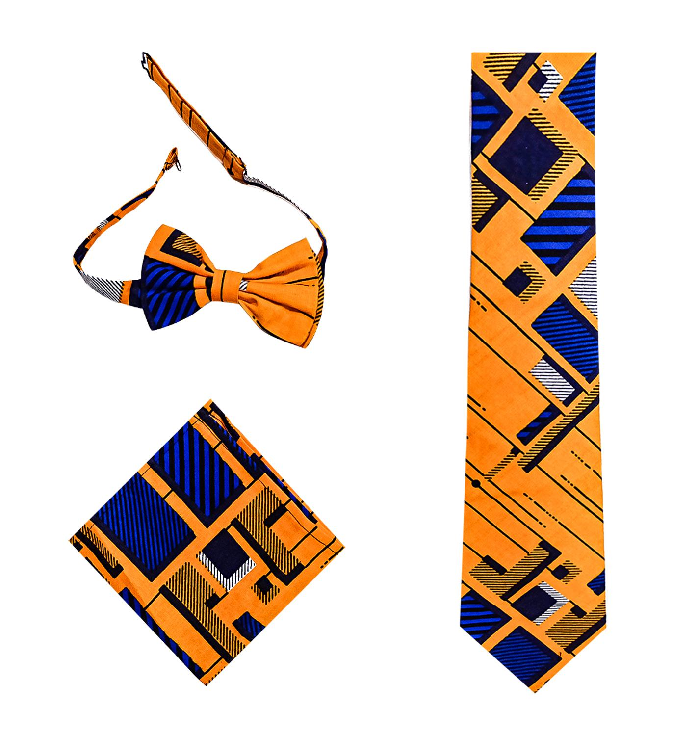 African Men NeckTie Fashion Tie Bohemia African Cotton Material Men Tie African Men Wedding Tie Traditional Fake Collar