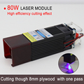 Upgraded version 80W laser module laser head, high efficiency cutting and engraving, Suitable for CNC / MASTER machine,wood wool