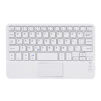 Wireless Keyboard with Touchpad Support IOS Windows Android OS Wireless Bluetooth Keyboards (7 Inch)