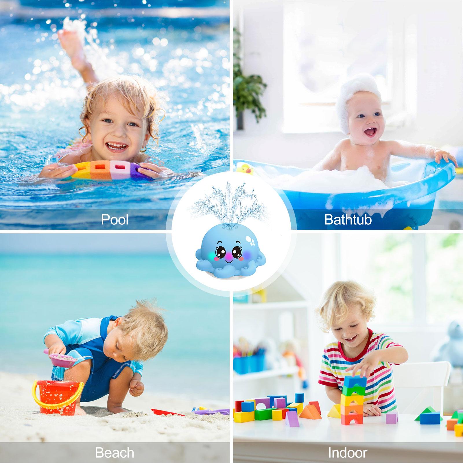 brinquedos de banho bebe spray chuveiro 04