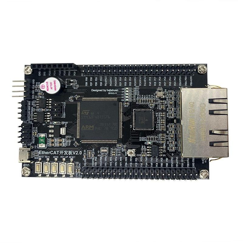 EtherCAT/LAN 9252/STM32F407/CANOPEN/CIA402/Development Board/Learning Board