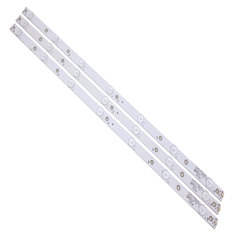 New Kit 3 PCS 7LED(3V) 620mm LED Backlight Strip For KDL-32R330D 32PHS5301 32PFS5501 LB32080 V0 E465853 E349376 TPT315B5