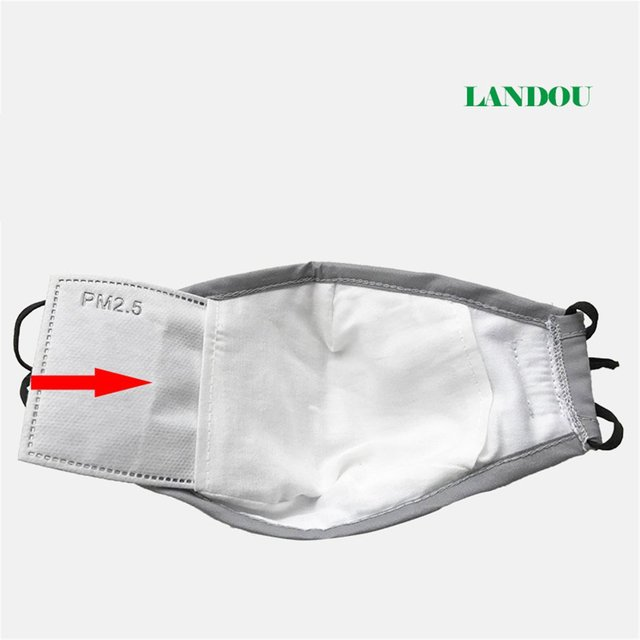 Breathing Value Anti-fog pm2.5 Mask Half Face Mask Outdoor Mask  with Filter  Protective Mask   Mouth-Muffle Mask 4