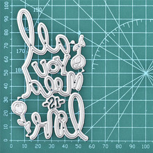 DiyArts Words Dies Love Letter Rose Metal Cutting New 2019 For Card Making Scrapbooking Cuts Decorative Stencils Crafts