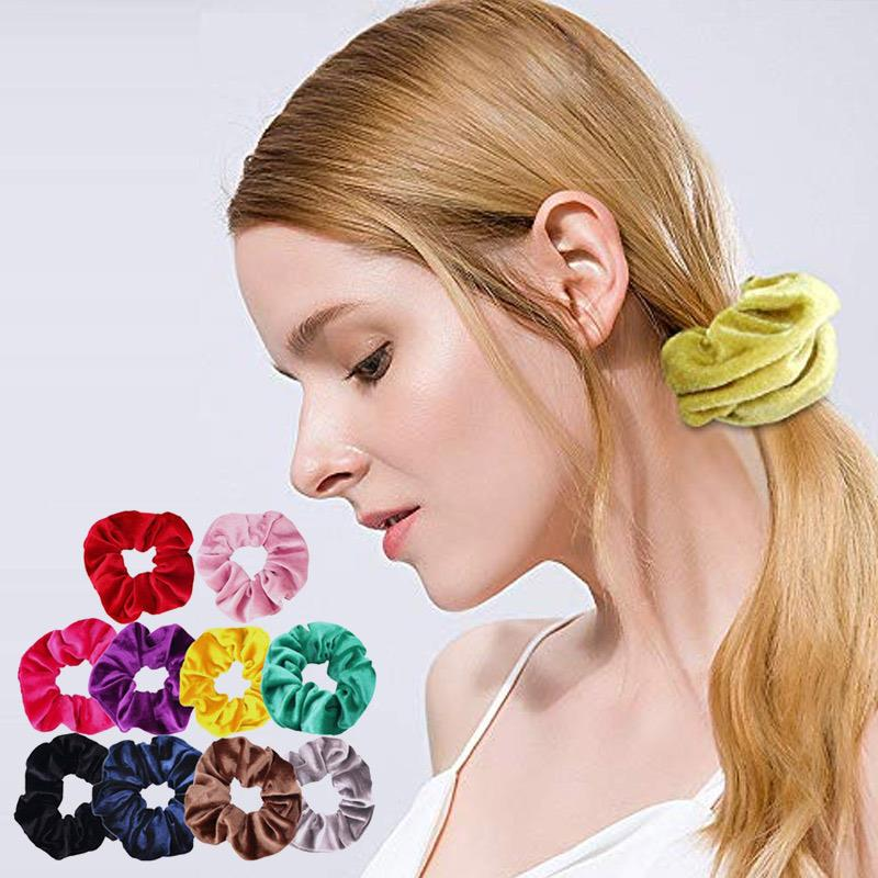 20pcs 10pcs Headband Head Rope Fashion Durable Retro Ponytail Hair Band Alloy Multicolor Ladies Hair Band Jewelry Accessories