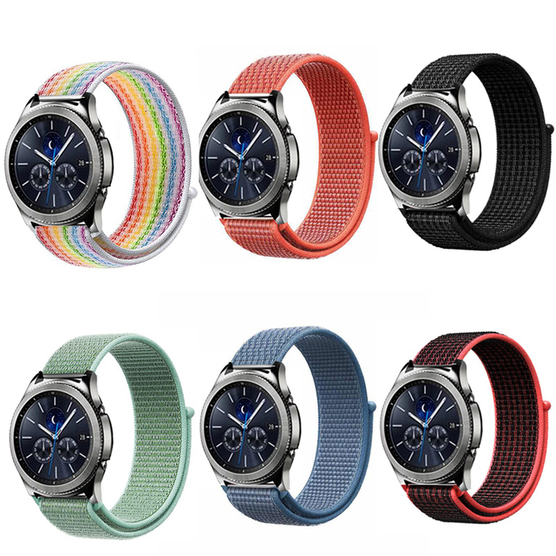 Gear S3 Frontier Strap For Samsung Galaxy Watch 46mm 42mm S4 Active 2 22mm Watch Band Amazfit Bip/gtr 47mm Huawei Watch Gt Strap