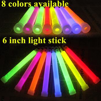 1 sztuk partia 6 cal multicolor Glow Stick chemiczne światło kij Camping awaryjne dekoracje Party kluby dostarcza chemiczne fluorescencyjne tanie i dobre opinie Światło chemiczne 1PCS LZZ667 Ślub i Zaręczyny Wielkie wydarzenie przyjęcie urodzinowe Przeprowadzka Na Chiński Nowy Rok