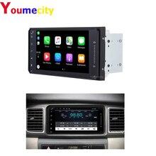 Youmecity Xe Ô Tô DVD Video GPS Đài Phát Thanh Cho Xe Toyota Ractis Camry Allion Camry Prado Avensis Auris Prius Chúc Yaris Cao Cấp