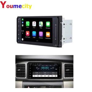 Image 1 - Youmecity lecteur vidéo DVD, Radio, avec GPS, pour voiture Toyota Ractis Camry allison Camry Prado Avensis Auris Prius wish Yaris highlander