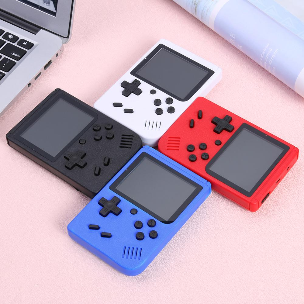 8 Bit 3inch Handheld Retro Video Game Console Built-in 400 Games Handheld Game Player Portable Mini Retro Console for Kids Adult