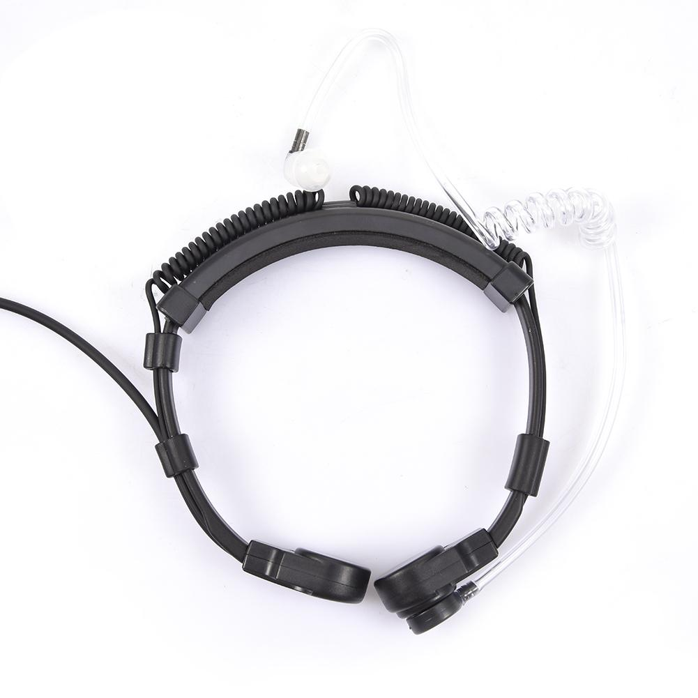 High Quality Retractable Throat Mic Earphone Headset For For Baofeng UV-9R BF-9700 BF-A58 GT-3WP R760 UV-82WP Walkie Talkie