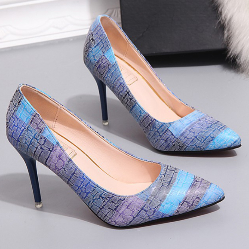 XZ026 Women Pumps High Heels Fashion Shoes Sexy Lady Pointed Toe Thin
