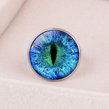 2019 new Punk Vintage Evil Eyes Ring Men Gothic Cool Male Devil Demon Eye Wolf Paw Rings Adjustable Biker Jewelry Anel Masculino(China)