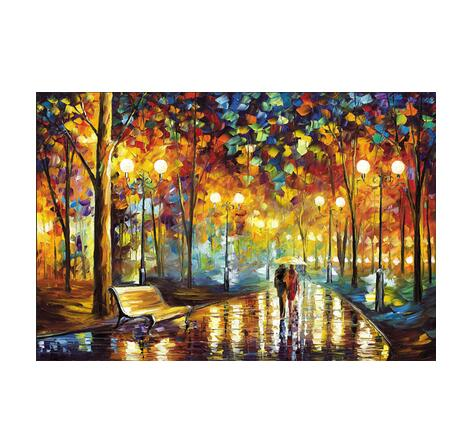 wooden Jigsaw puzzle 2000 pieces world famous painting puzzles toys for adults children kids toy home decoration collection - 6