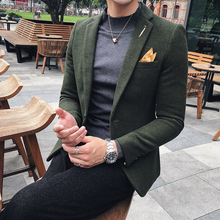 2019 British style Men High quality The wool fabri