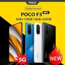 Global Versie Poco F3 Nfc 5G 6Gb 128Gb/8Gb 256Gb Mobiele Telefoon Snapdragon 870 octa Core 6.67