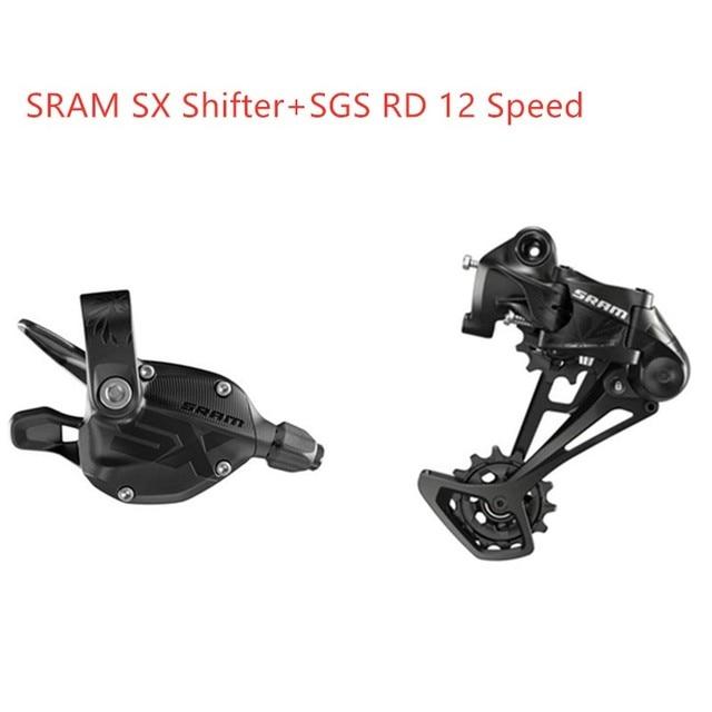 SRAM SX イーグル 1 × 12 速度トリガーシフター SX リアディレイラーロングケージ MTB SX シフターレバー SX リアディレイラー