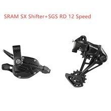 SRAM SX EAGLE 1x12 prędkość wyzwalania dźwigni zmiany biegów SX przerzutka tylna długa klatka MTB SX dźwignia zmiany biegów SX z tyłu przerzutka