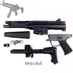 Jinming mp5 2-го поколения гелевый бластер, основной корпус, ручка для игрушечный водяной пистолет, аксессуары, коробка передач MP5, защита задней к...