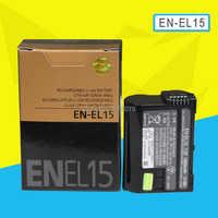 EN-EL15 batería EN EL15 ENEL15 Cámara paquete de baterías para Nikon D600 D610 D600E D800 D800E D810 D7000 7100 d75