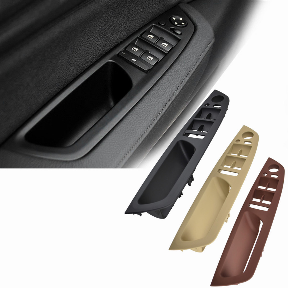 Replacement Cover Trim Window Lift Regulator Button Frame for Left Hand Driver BMW 520 523 525 528 530 535 Window Switch Armrest Door Panel for LHD 5 Series F10 F11 2010-2016