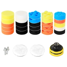 Polishing-Pad-Kit M14-Drill-Adapter Car-Care-Polisher Sponge 3inch Wool And with