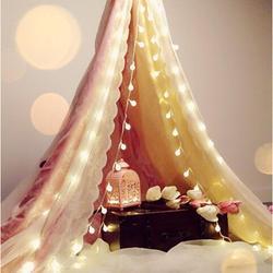 Bożonarodzeniowe światełka LED ciąg przezroczysty kryształ piłka bajki światła na imprezę ślub Garland dekoracje świąteczne w Girlandy świetlne od Lampy i oświetlenie na