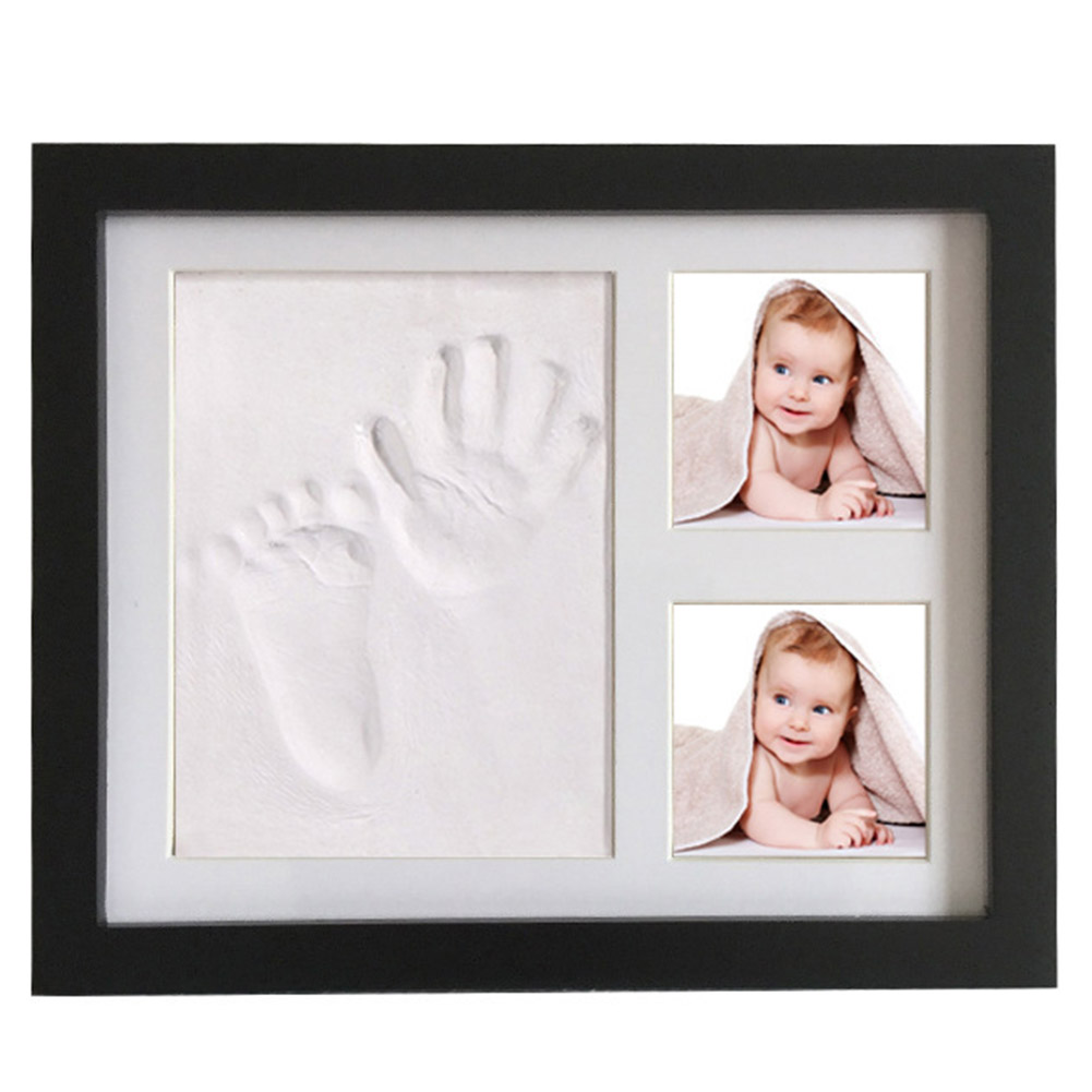 Infant Baby Handprint Kit Footprint Casting Gifts Non-toxic Souvenirs Imprint