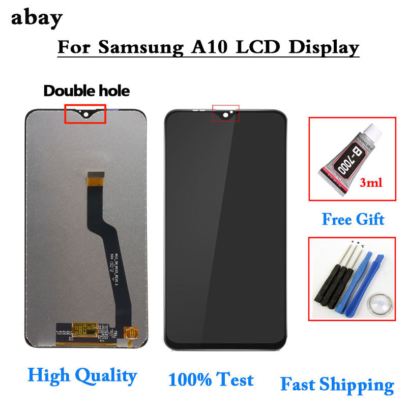 OEM LCD For SAMSUNG GALAXY A10 LCD Display Touch Screen Digitizer Assembly Sigle /Double A105 A105F For SAMSUNG A10 LCD Screen image