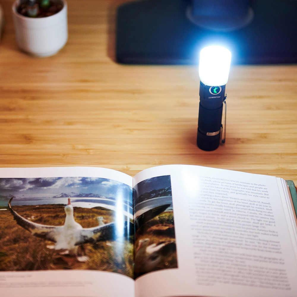 LUMINTOP EDC18 3x XPL HI 2800LM UI компактный EDC светодиодный фонарик брелок свет мини фонарик для кемпинга фонарь Портативный
