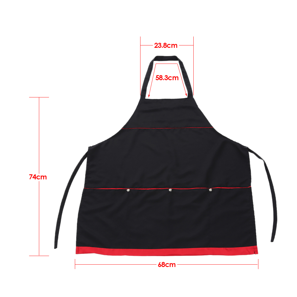 Waterproof  Hair Cutting Salon Apron Hairdressing Cape For Barber Hair Cloth Cutting Cape For Hairdresser With 4 Pocket