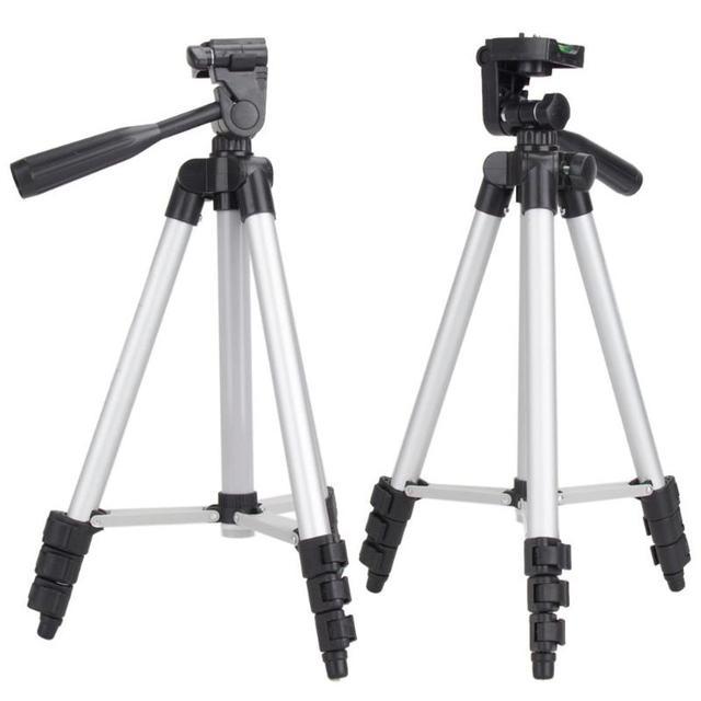 1pcs מקצועי מצלמה חצובה Stand עבור Canon EOS Rebel T2i T3i T4i ועבור Nikon D7100 D90 D3100 מצלמה חצובות