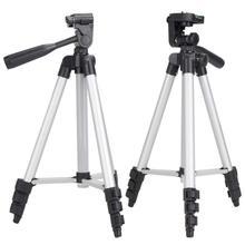Tripé profissional para câmera, 1 peça de suporte para câmera canon eos rebel t2i t3i t4i e para câmera nikon d7100 d90 d3100 tripods