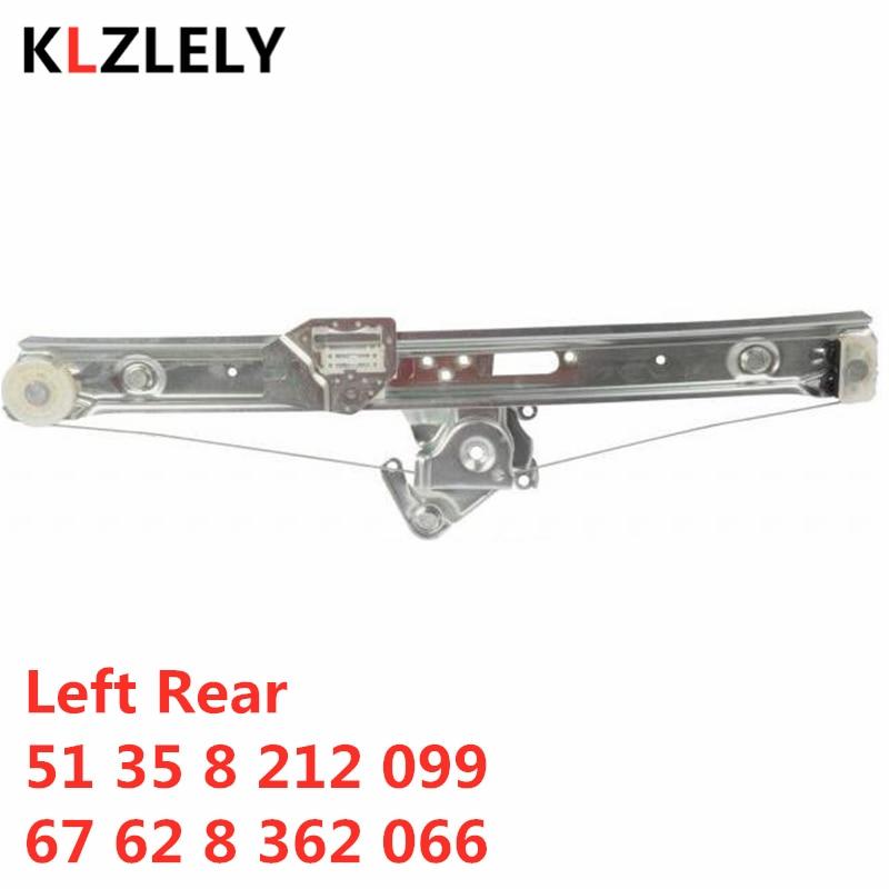 For BMW E46 318 320 330 325 316 I D Xd Xi  Left Rear Window Regulator 51 35 8 212 099  67 62 8 362 066