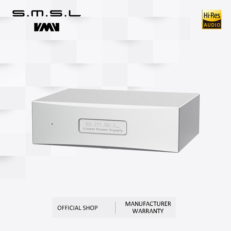 SMSL P2 Linear Power Supply Dual 5V Output Can Use As Audio Power Supply Set for SMSL M8A and SAP-12 Amplifier