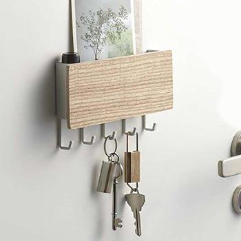 Wooden Storage Hook Decorative Hook Storage Rack Home Wall Key Hook Wooden Hanger Multi-Purpose Wall Shelf Sundries Storage Box цена 2017